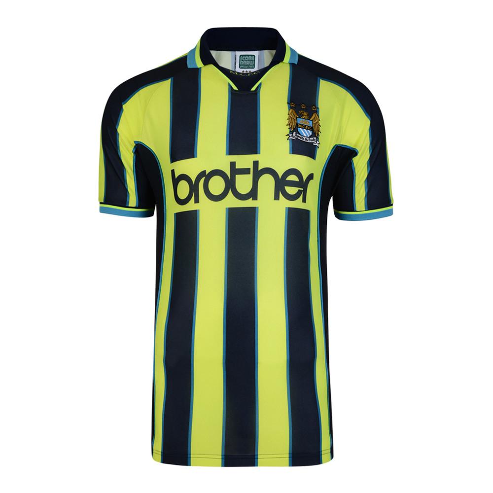 Manchester City 1998-99 Retro Football Jersey | Retro ...