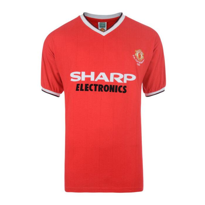 Manchester United 1982-83 Retro Football Shirt