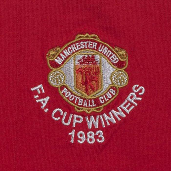 Manchester United 1982-83 Maglia Storica Calcio