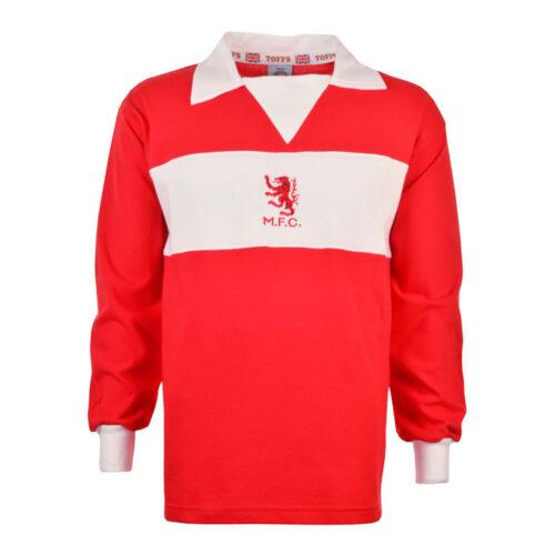 Middlesbrough 1974-75 Maglia Storica Calcio