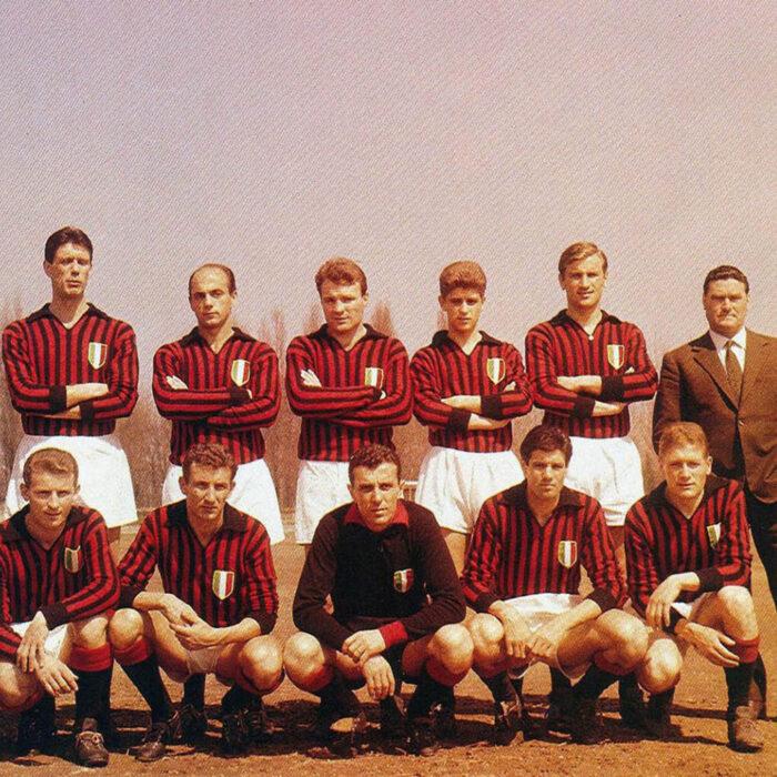Milan 1962-63 Maglia Storica Calcio