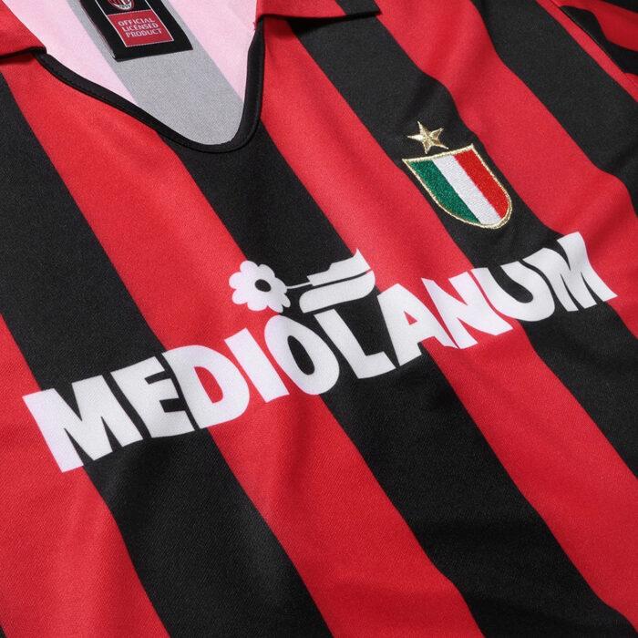 Milan 1988-89 Maglia Storica Calcio
