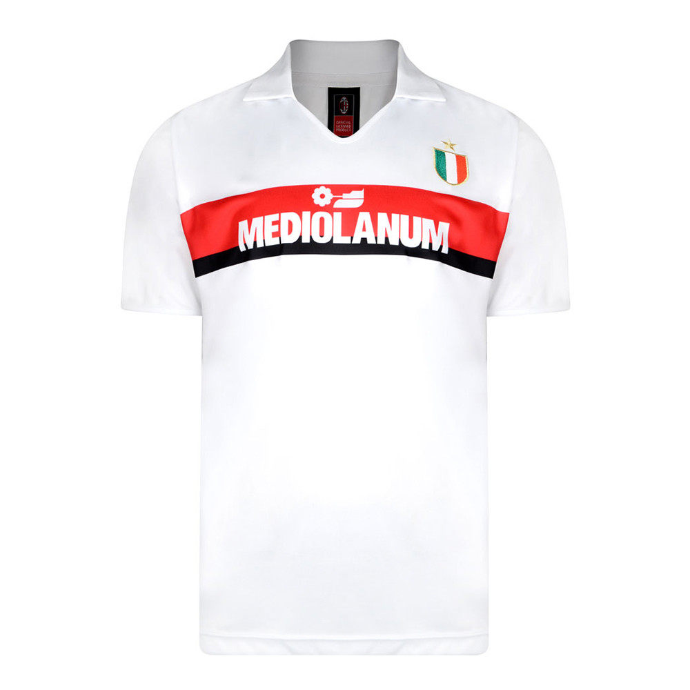 outlet store 33935 37b51 Milan 1988-89 Retro Football Jersey