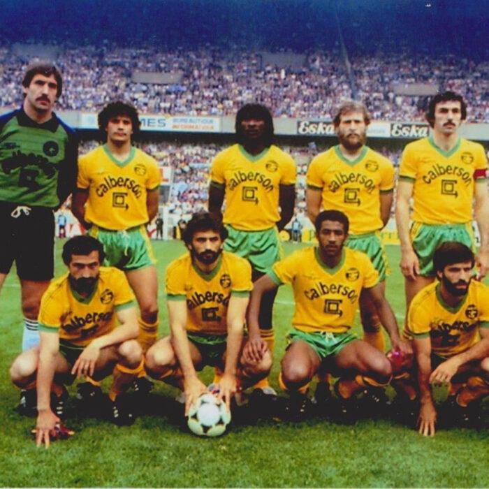 Nantes 1982-83 Maglia Storica Calcio