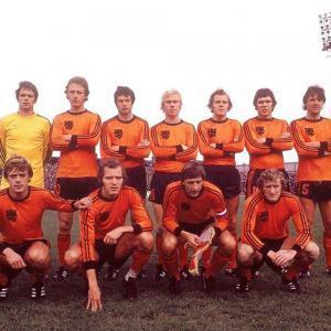 Olanda 1977 Maglia Storica Calcio