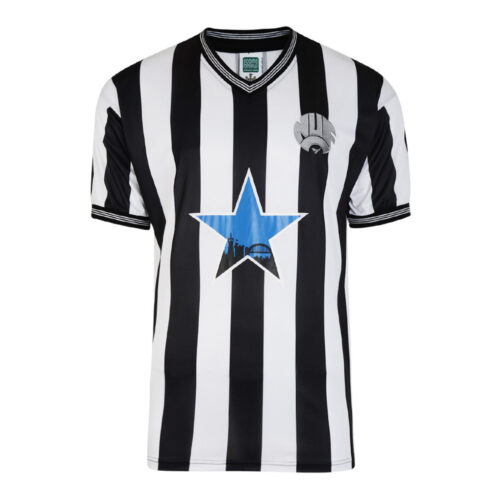 Newcastle United 1985-86 Camiseta Retro Fútbol