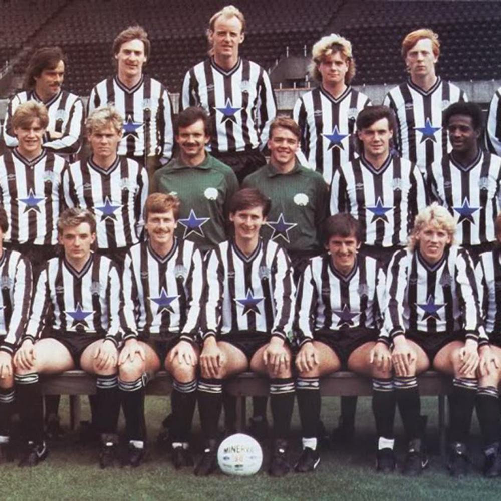 Newcastle United 1985-86 Maglia Storica Calcio