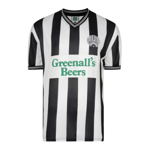 Newcastle United 1986-87 Camiseta Retro Fútbol