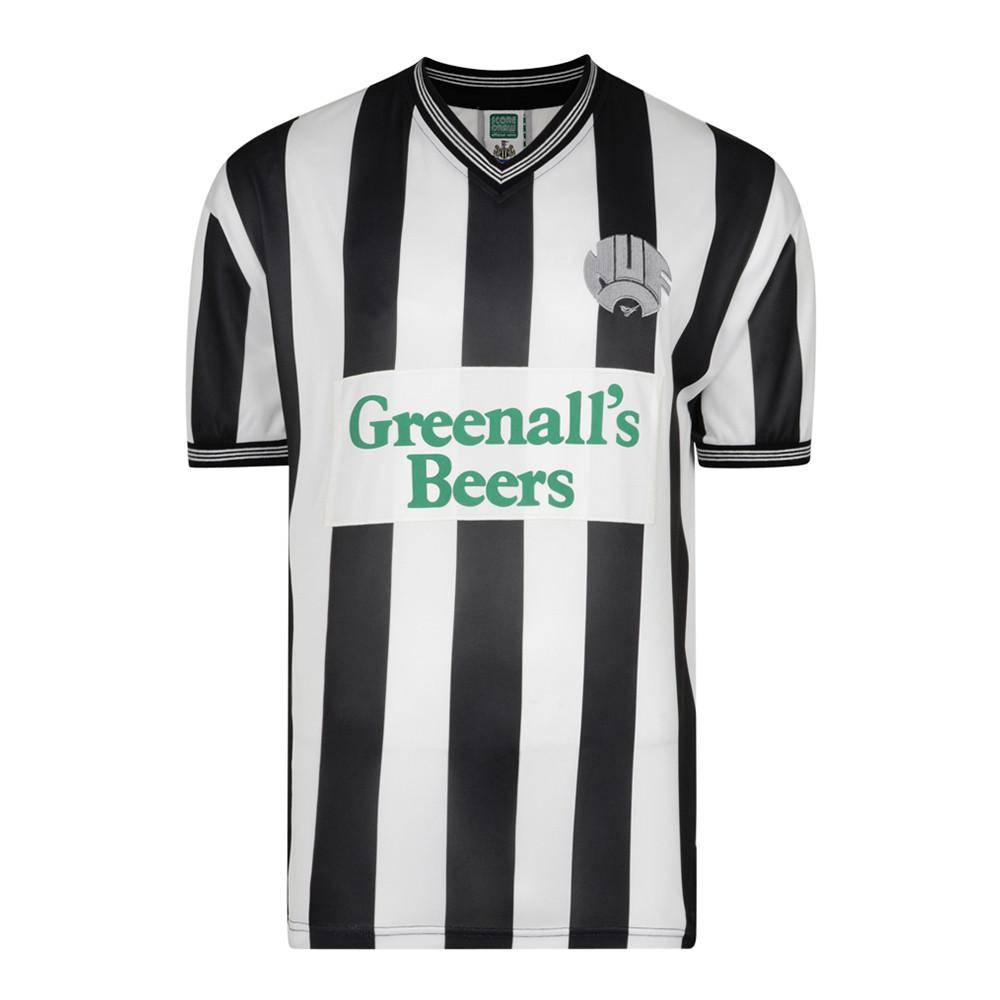 Newcastle United 1986-87 Camiseta Retro Fútbol