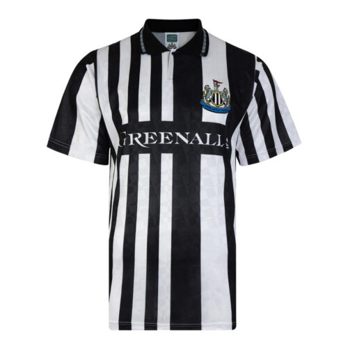 Newcastle United 1990-91 Camiseta Retro Fútbol