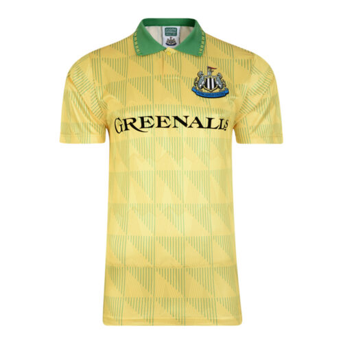 Newcastle United 1990-91 Camiseta Fútbol Retro