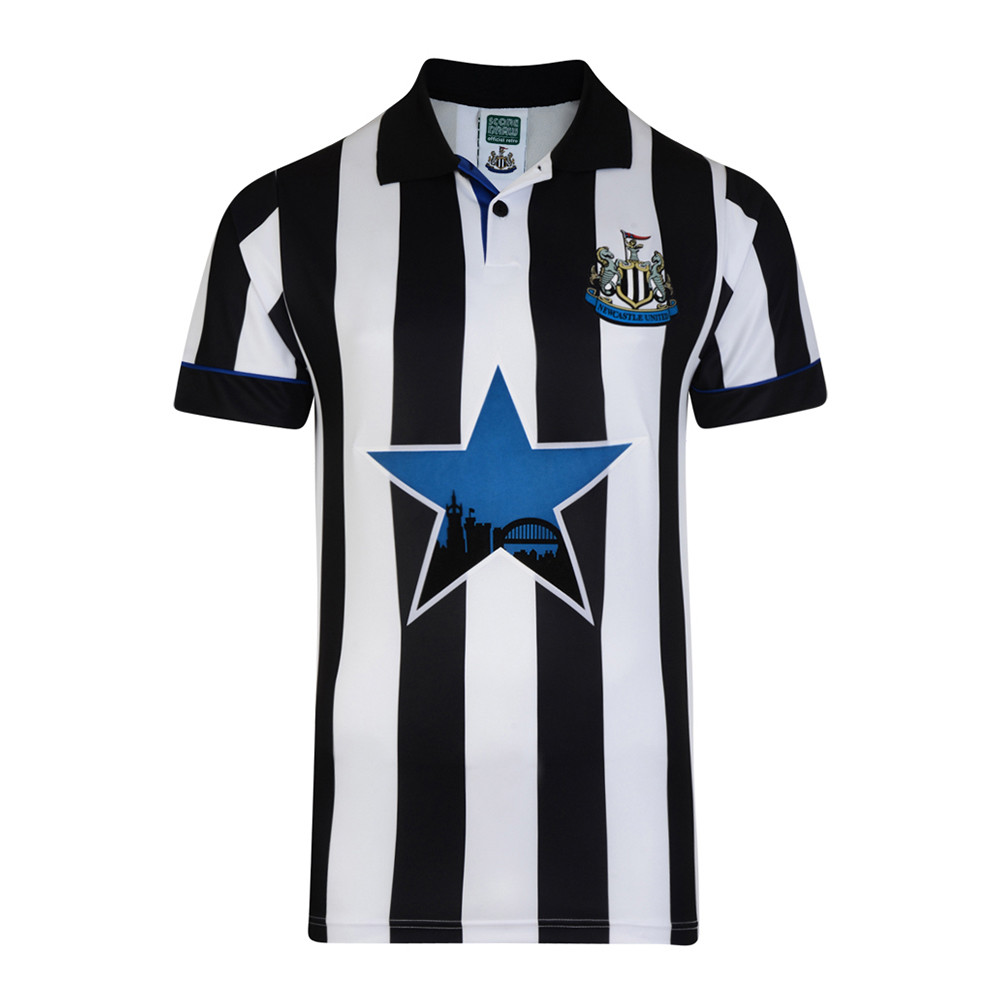 Newcastle United 1993-94 Maillot Rétro Foot