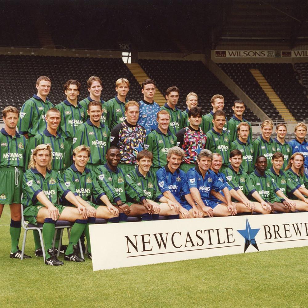 Newcastle United 1994-95 Away Maglia Storica