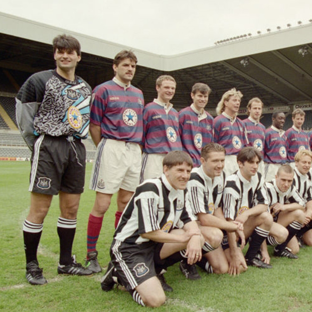 Newcastle United 1995-96 Away Maglia Storica