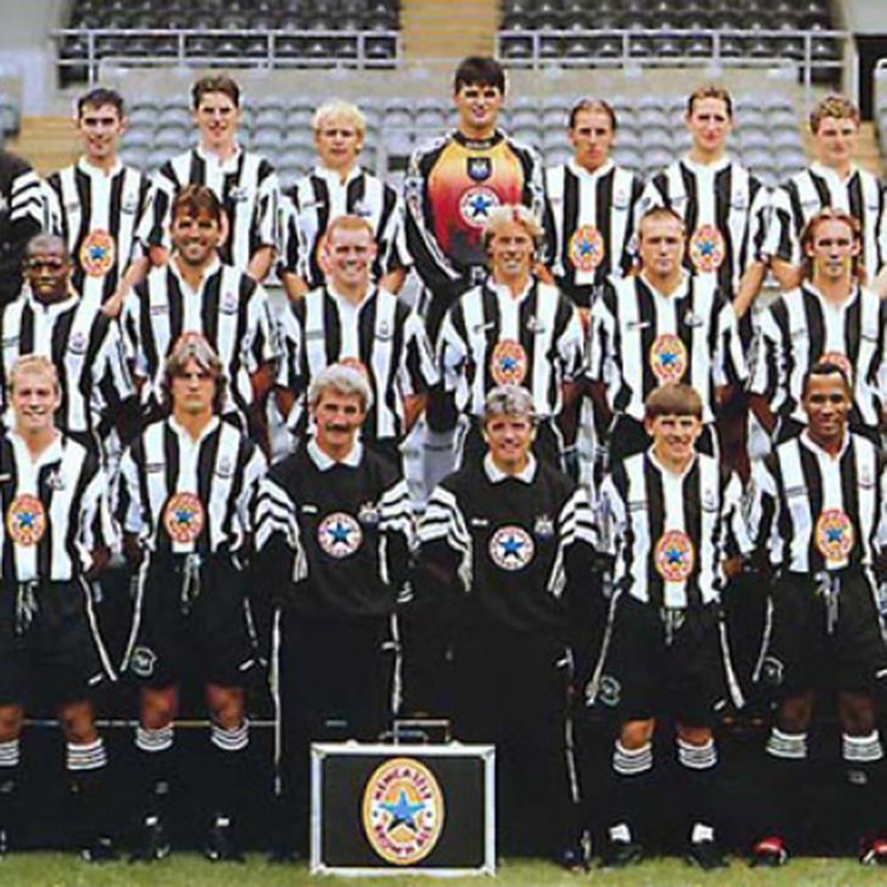 Newcastle United 1996-97 Maglia Storica Calcio