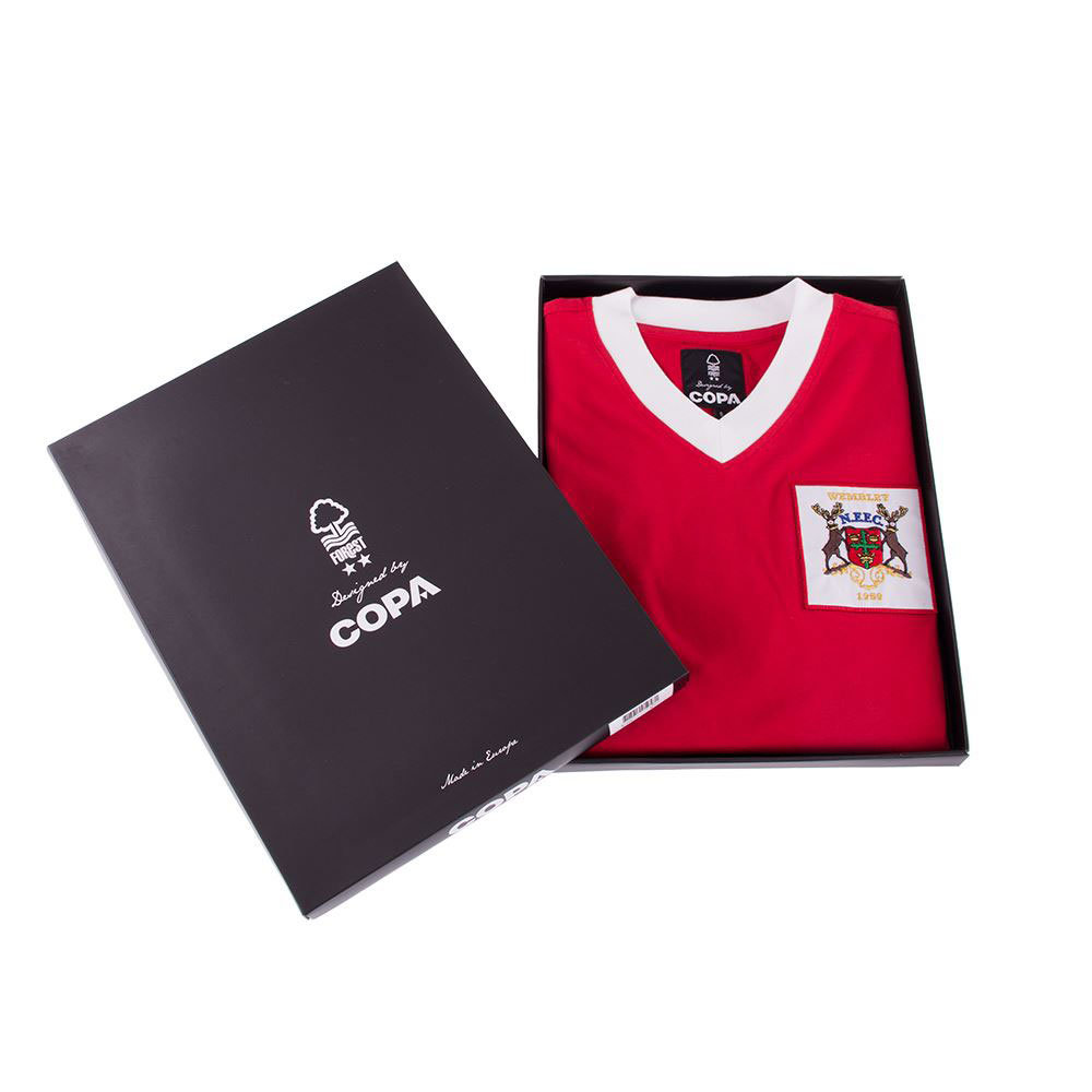 Nottingham Forest 1958-59 Maglia Storica Calcio