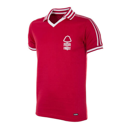 Nottingham Forest 1976-77 Maillot Rétro Foot