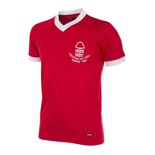 Nottingham Forest 1979-80 Maillot Rétro Foot