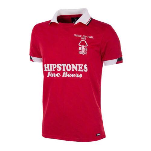 Nottingham Forest 1988-89 Camiseta Retro Fútbol