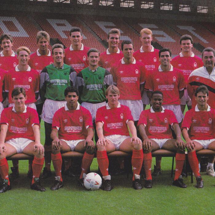 Nottingham Forest 1988-89 Maglia Storica Calcio