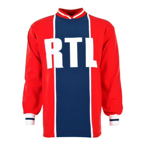 Paris Saint Germain 1974-75 Camiseta Retro Fútbol