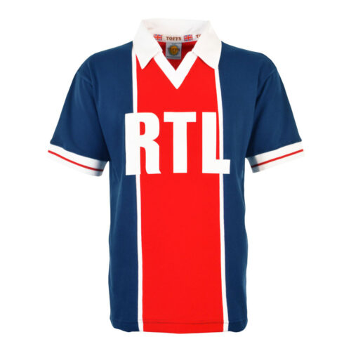 Paris Saint Germain 1981-82 Retro Football Shirt