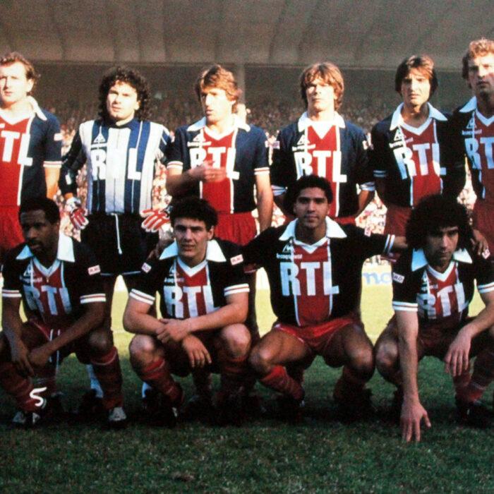4ad6d6687 Paris Saint Germain 1981-82 Retro Football Shirt - Retro Football Club ®