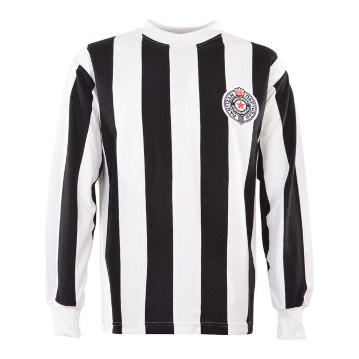 Partizan Belgrade 1973-74 Retro Football Shirt