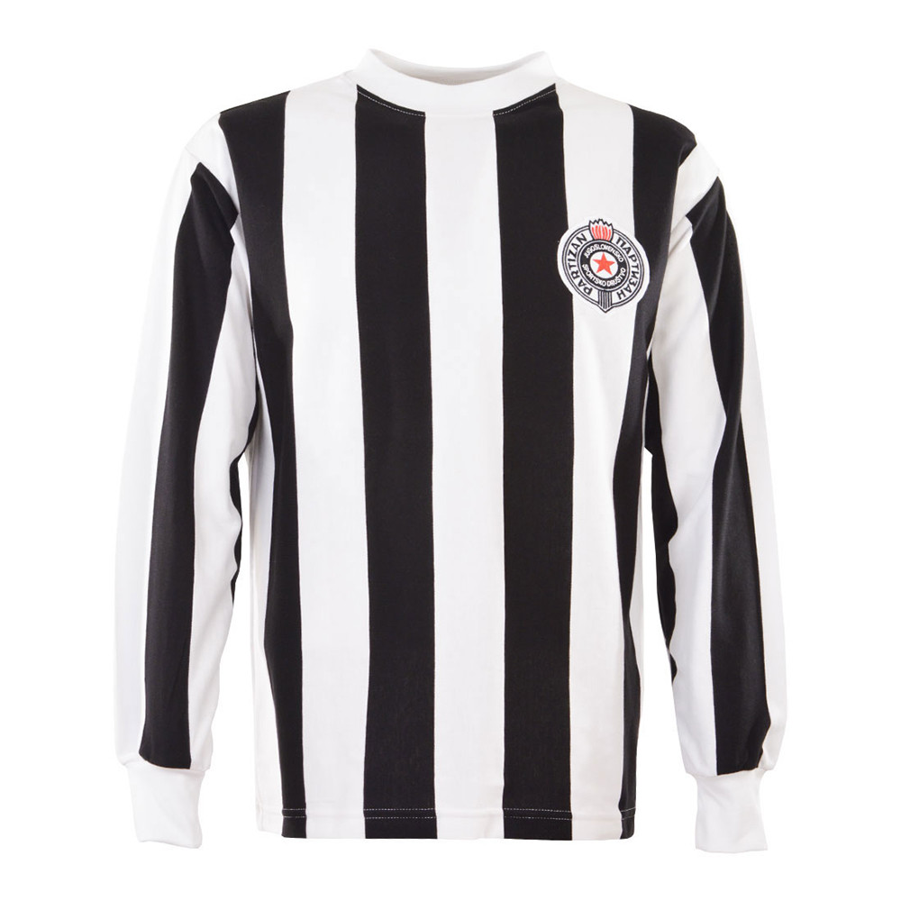 Partizan Belgrade 1973-74 Retro Football Shirt