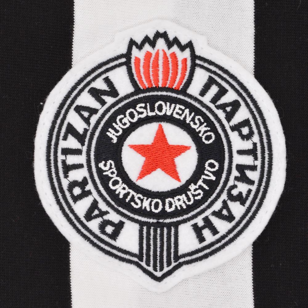 Partizan Belgrado 1973-74 Maglia Storica Calcio
