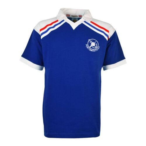 Portsmouth 1980-81 Maglia Storica Calcio