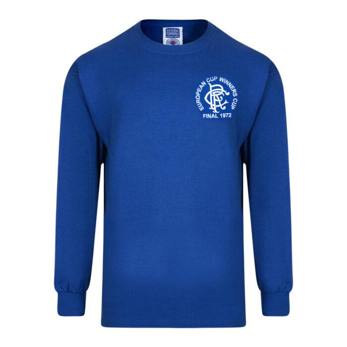 Rangers Glasgow 1971-72 Camiseta Retro Fútbol