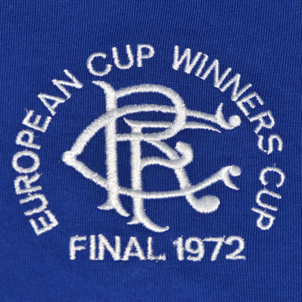 Rangers Glasgow 1971-72 Maglia Storica Calcio