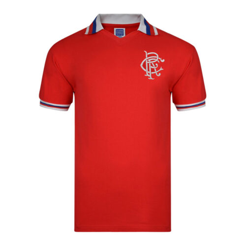 Rangers Glasgow 1981-82 Retro Football Shirt