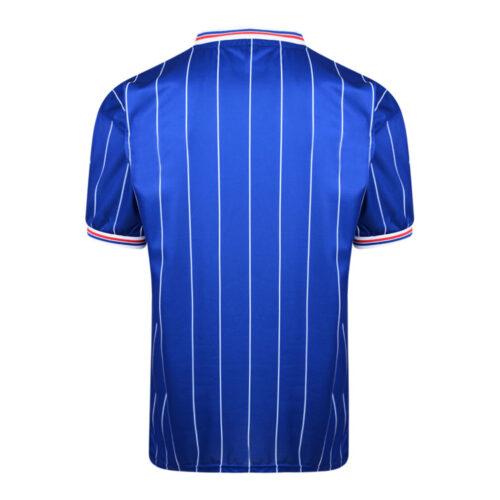 Rangers Glasgow 1983-84 Maglia Storica Calcio