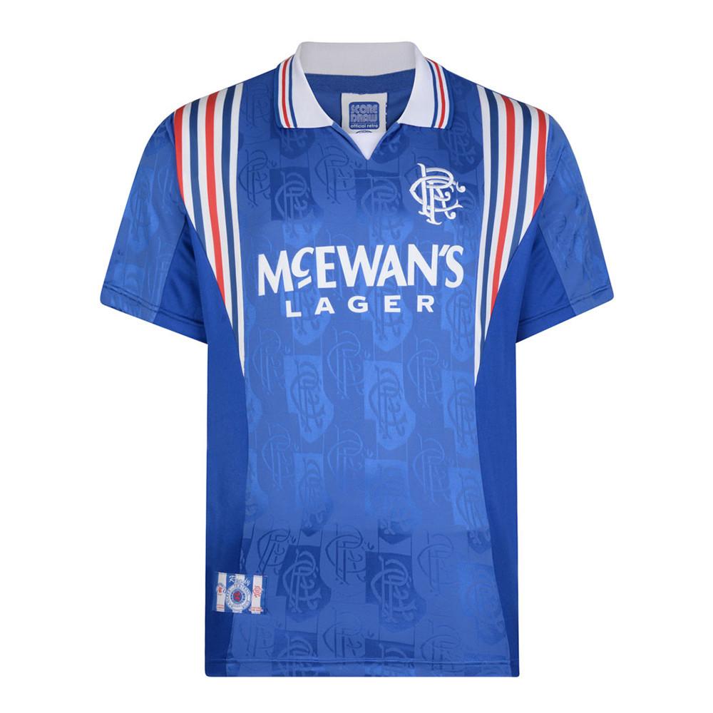 Rangers Glasgow 1996-97 Maillot Rétro Foot