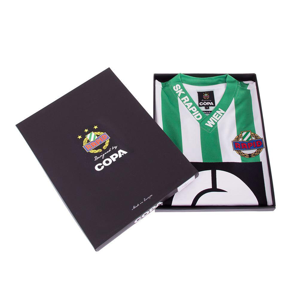 Rapid Vienna 1988-89 Maglia Storica Calcio