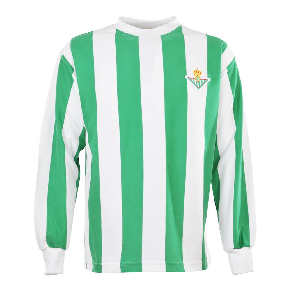 Real Betis Sevilla 1965-66 Camiseta Retro Fútbol