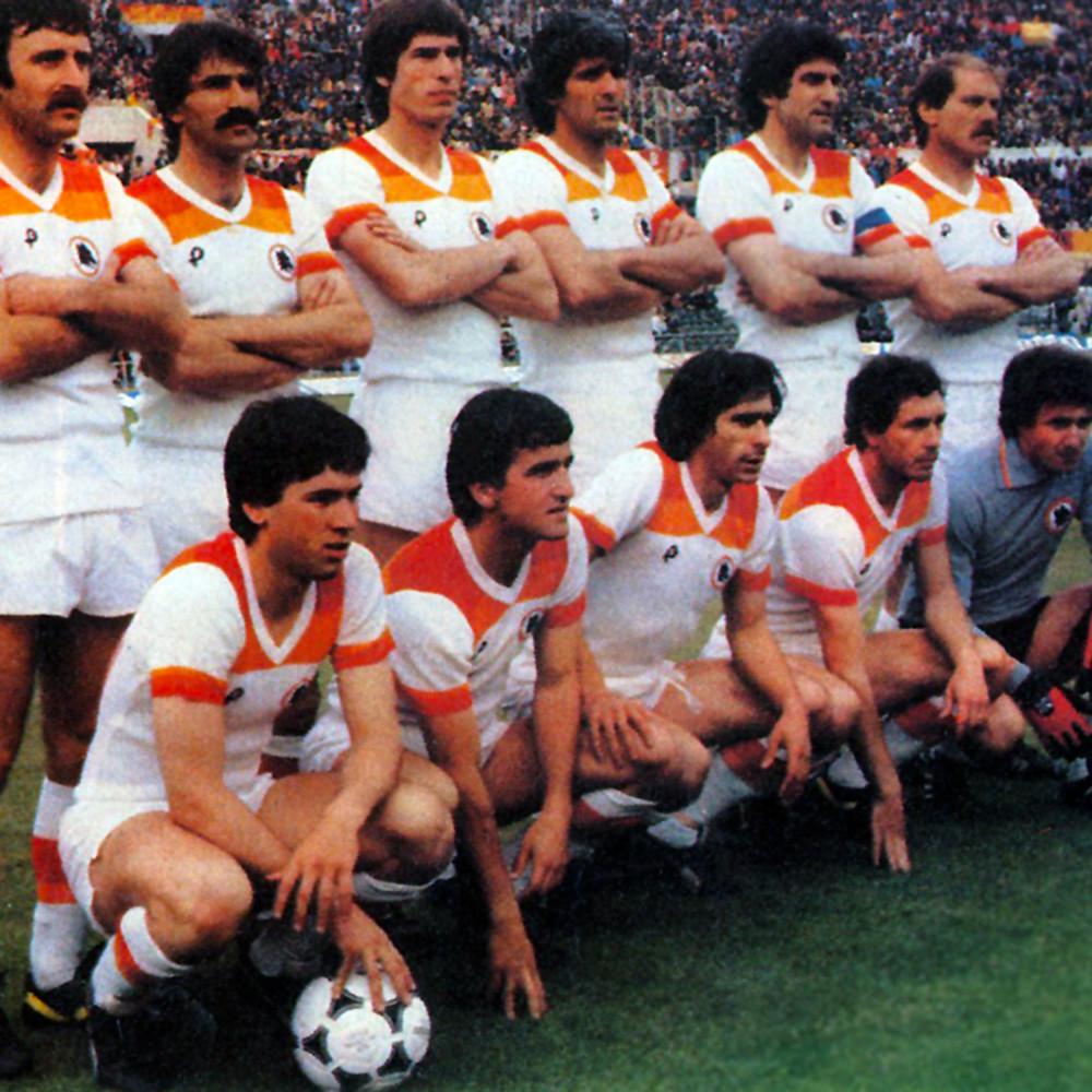 Roma 1979-80 Away Maglia Storica Calcio