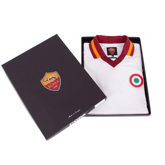 Roma 1980-81 Away Maglia Storica Calcio