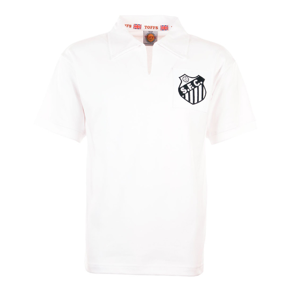 Santos 1962 Camiseta Retro Fútbol