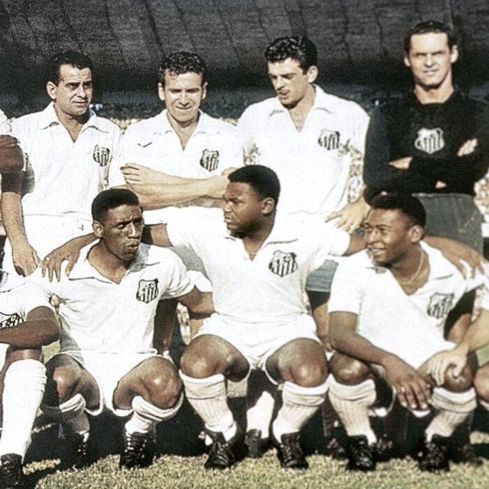 Santos 1962 Maglia Storica Calcio
