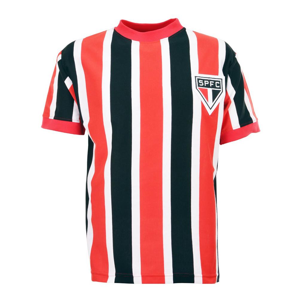 São Paulo 1970 Camiseta Retro Fútbol