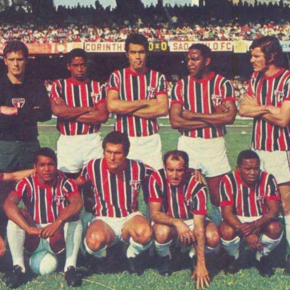 São Paulo 1970 Maglia Storica Calcio
