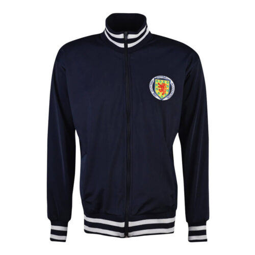 Scotland 1977 Retro Football Track Top