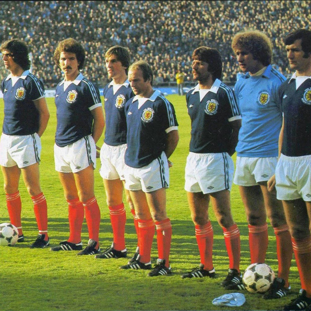 Scozia 1978 Maglia Storica Calcio