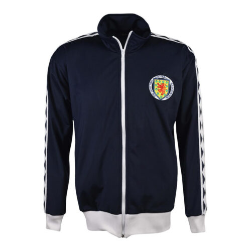 Scotland 1978 Retro Football Track Top