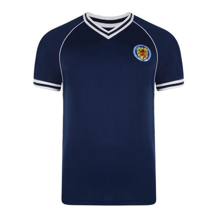 Escocia 1982 Camiseta Retro Fútbol