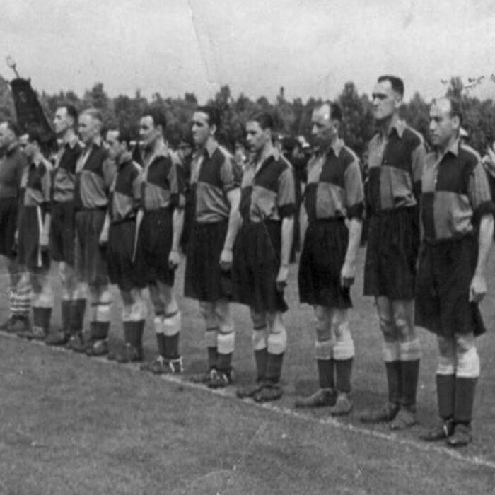 Sheffield FC 1954-55 Maglia Storica Calcio