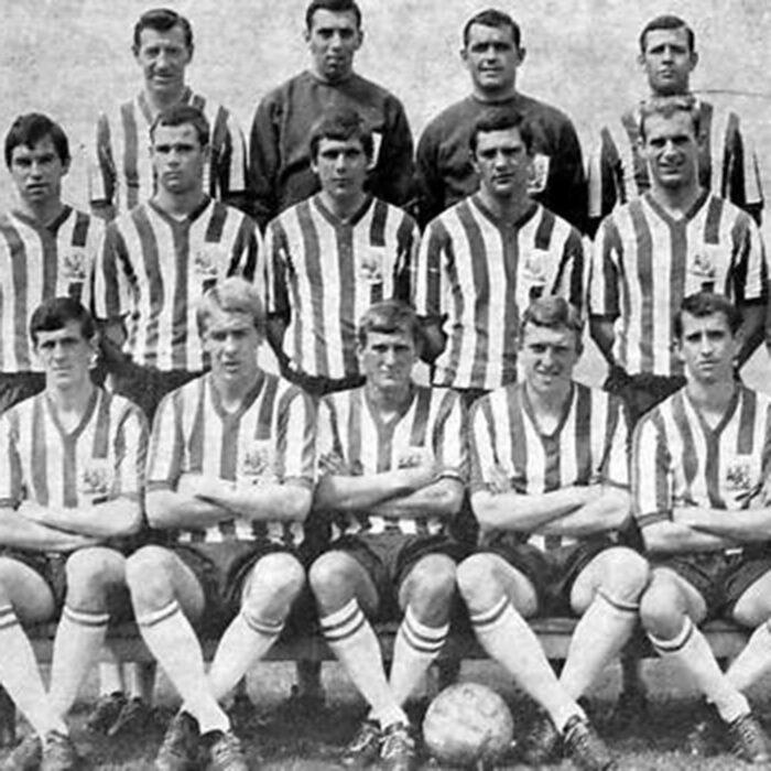Sheffield United 1966-67 Maglia Storica Calcio